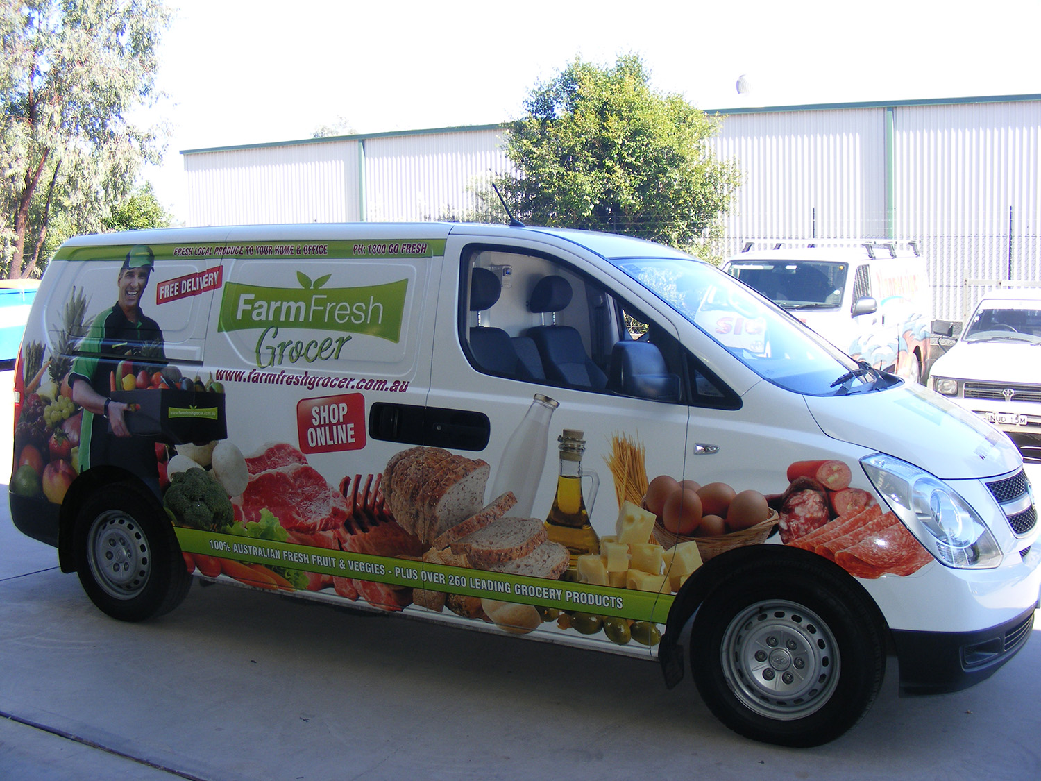 Plannedsigns (NSW) Pty Ltd | Vehicle Wraps